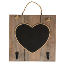 We Love This Heart Chalkboard With Hooks Which Is Part Of The Pretty Ashley Farmhouse Collection