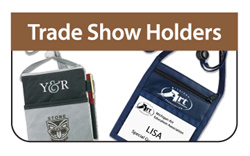 Tradeshow Holders - Click Here a FREE Quote / Proof