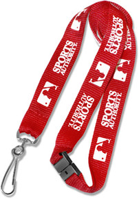 "5 DAY RUSH SERVICE - 3/4"" Wide Custom Lanyard"