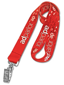 Dye-Sublimated Full-Color Custom Lanyard (Heat Transfer)