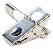Bulldog Clip with Pin