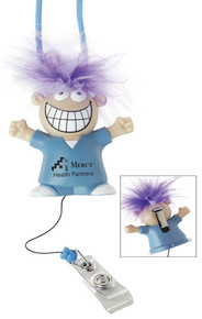 Goofy Medical Retractable Badge Holder