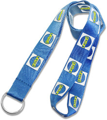 "Nylon Screen-Printed Lanyard - 3/4"" wide"