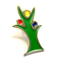 "Die Struck Soft Enamel Lapel Pin (0.75"")"
