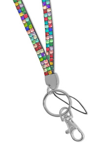 Rhinestone Lanyard - Mixed Color