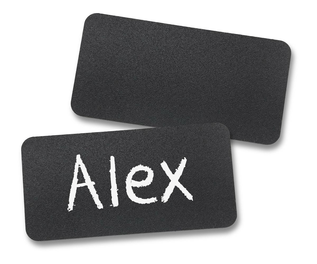 Chalkboard Reusable Name Tags (1-1/2'X3')
