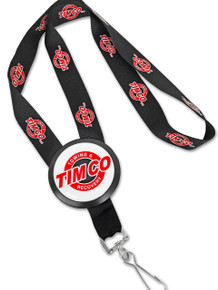 Printed Badge Lanyard Button With Printed Lanyard