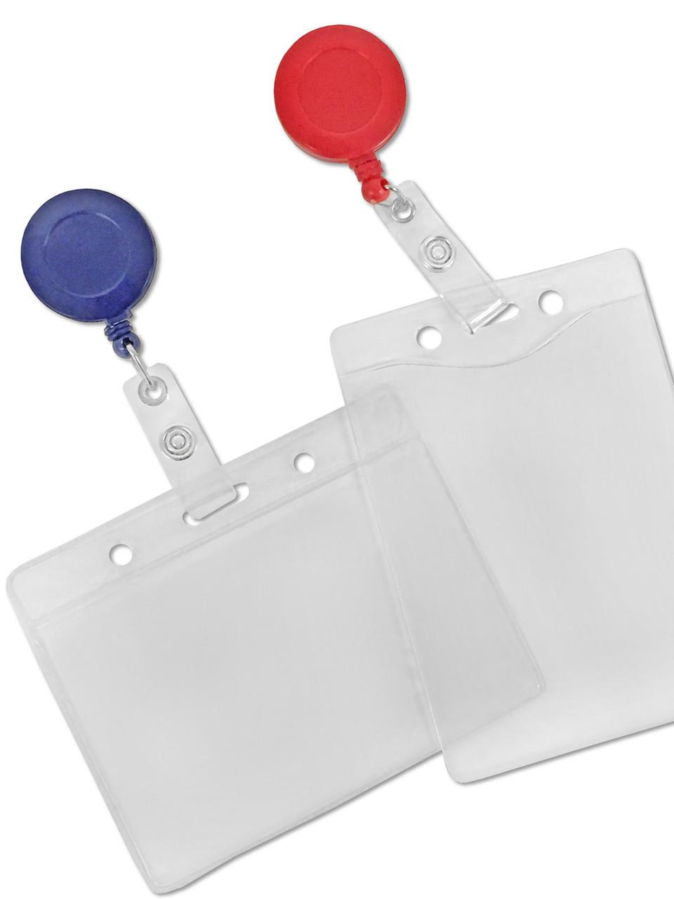 Badge Holders Badge Holder Amp Badge Reel Combo Set