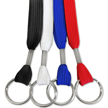 "1/2"" Flat Lanyard with Split Ring"