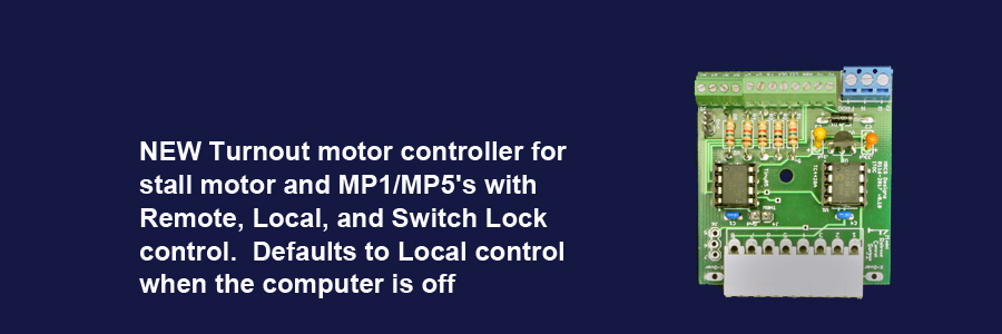 Integrated Turnout Controller