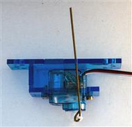 Servo Mount for SG90 Servo  This is a servo mount designed for the SG90 is specifically designed for points/turnouts and for driving semaphore signals.  Servo not included.