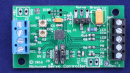 "This Servo controller measures 1.25"" x 2"" and controls one servo - discounts offered at 10 units"
