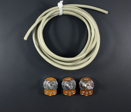 External pot and cable set for Dispatcher/Operator Board