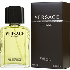Versace L'homme for men. This one is super sexy! We only get the really pleasing scents in POMP! POMP Paul wears this one and the Guess seductive and they are both so wonderful! Hard to choose! Get both! This has warm green undertones. Citrus, spicy and very masculine ! 3.4 oz