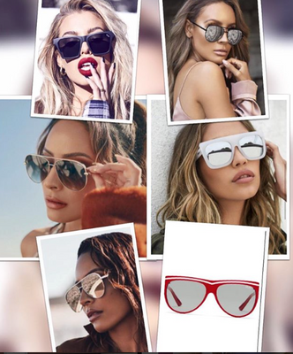 Take your pick! Authentic Quay Australia Sunnies.. Go to Quay Australia Category to shop each style! It's right at the top in our category section! We ship FREE for all Quays!