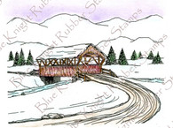 Winter Covered Bridge