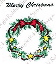 Starry Christmas Wreath