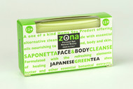 Zona Saponetta 12 + Face & Body Cleanse Japanese Green Tea