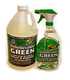 Unbelievable! Green Cleaner Gallon