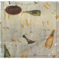 Caspari 'Champagne Toast' Dinner Napkin