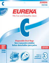 Eureka Style C Disposable Dust Bags