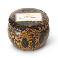 Voluspa Baltic Amber Decorative Tin Candle