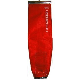 Genuine Sanitaire Red Tie-Tex Dump Out Bag Assembly