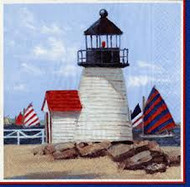 Caspari 'Lighthouse' Napkins 20 Count