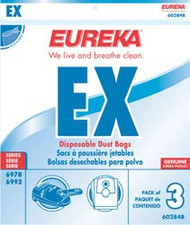 Eureka Disposable Type EX Vacuum Bags