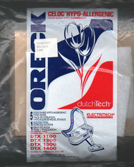 Oreck Dutch Tech Bags with Saniseal