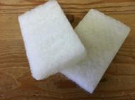 Sponge Hand Pads White 2 Pack