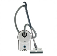 SEBO Airbelt D4 White Premium Canister Vacuum Cleaner with Power Head