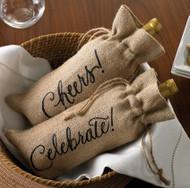 Mud Pie 'Celebrate' Wine Bag (429M006CE)
