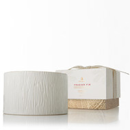 Thymes Frasier Fir Ceramic 3 Wick Candle