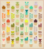 Greenhouse printed quilt pattern by Elizabeth Hartman. Available at Purple Stitches in UK