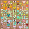 Delight Desert paper quilt pattern by Elizabeth Hartman. Available at Purple Stitches in UK