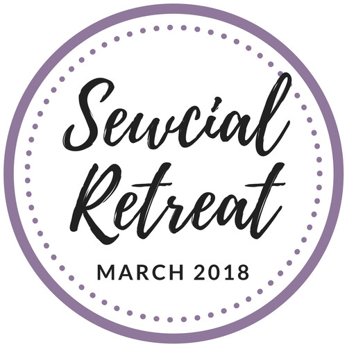 Sewcial Retreat 2018, UK sewing retreat in Oxfordshire, by Purple Stitches, UK fabric shop