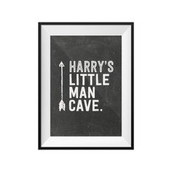 Personalised Little Man Cave