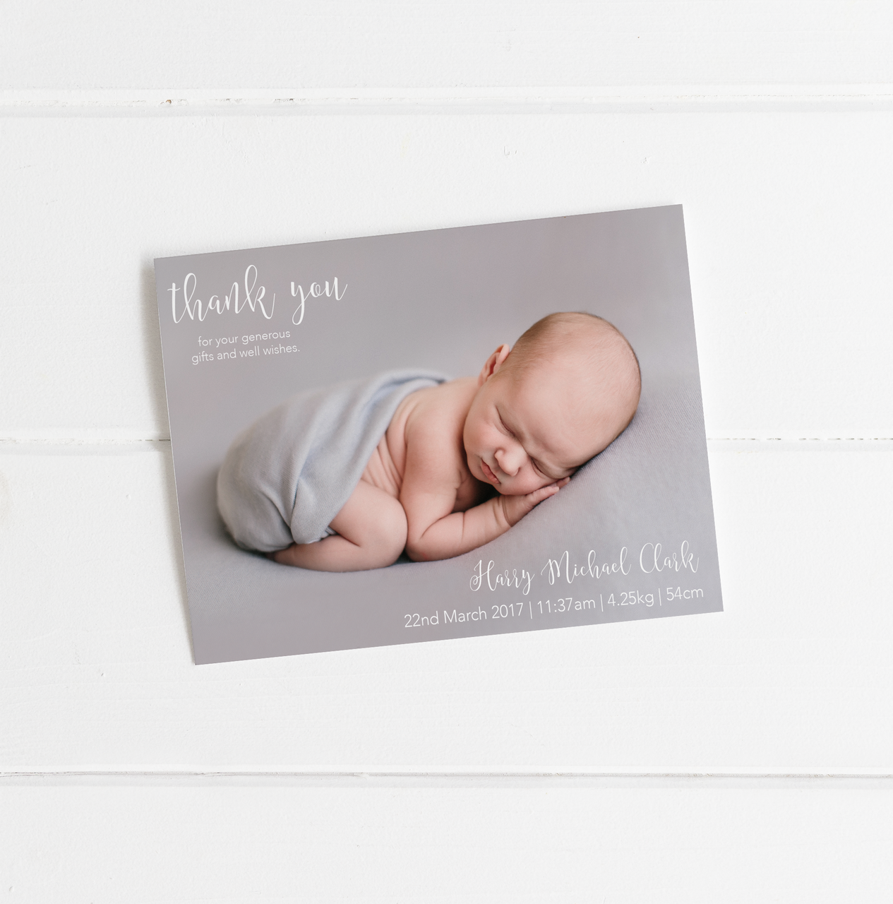 Thank you Birth Announcement cards Toucan – Birth Announcements and Thank You Cards