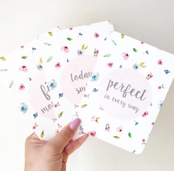 Sweet Garden Baby Milestone Cards