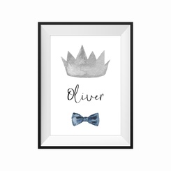 Little Prince Personalised print