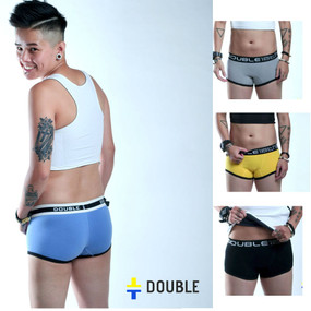 unisex androgynous tomboys boxer briefs