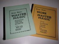 Blake, George - Double Play - Master Magic I and II ( 2 Books)