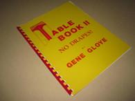 Gloye, Gene - Table Book II, No Drapes (Used)