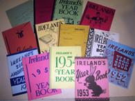 Marshall, Frances-Ireland 's Yearbooks 1938,40,42,44-46,49,51-56 (13 years)