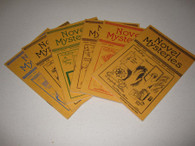 Bagshawe, Edward - Novel Mysteries series (complete-6 booklets)