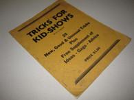Grant, U.F. - Tricks for Kid-Shows