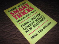 McAthy, George - Smart Tricks for Magicians & M.C.'s (1947)