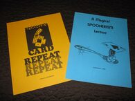 Spooner - 2 Volumes - A Magical Spoonerism / Spooner's 6 Card Repeat