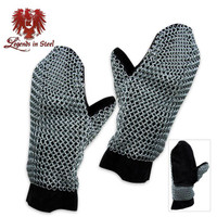 Chainmail Armor Mittens